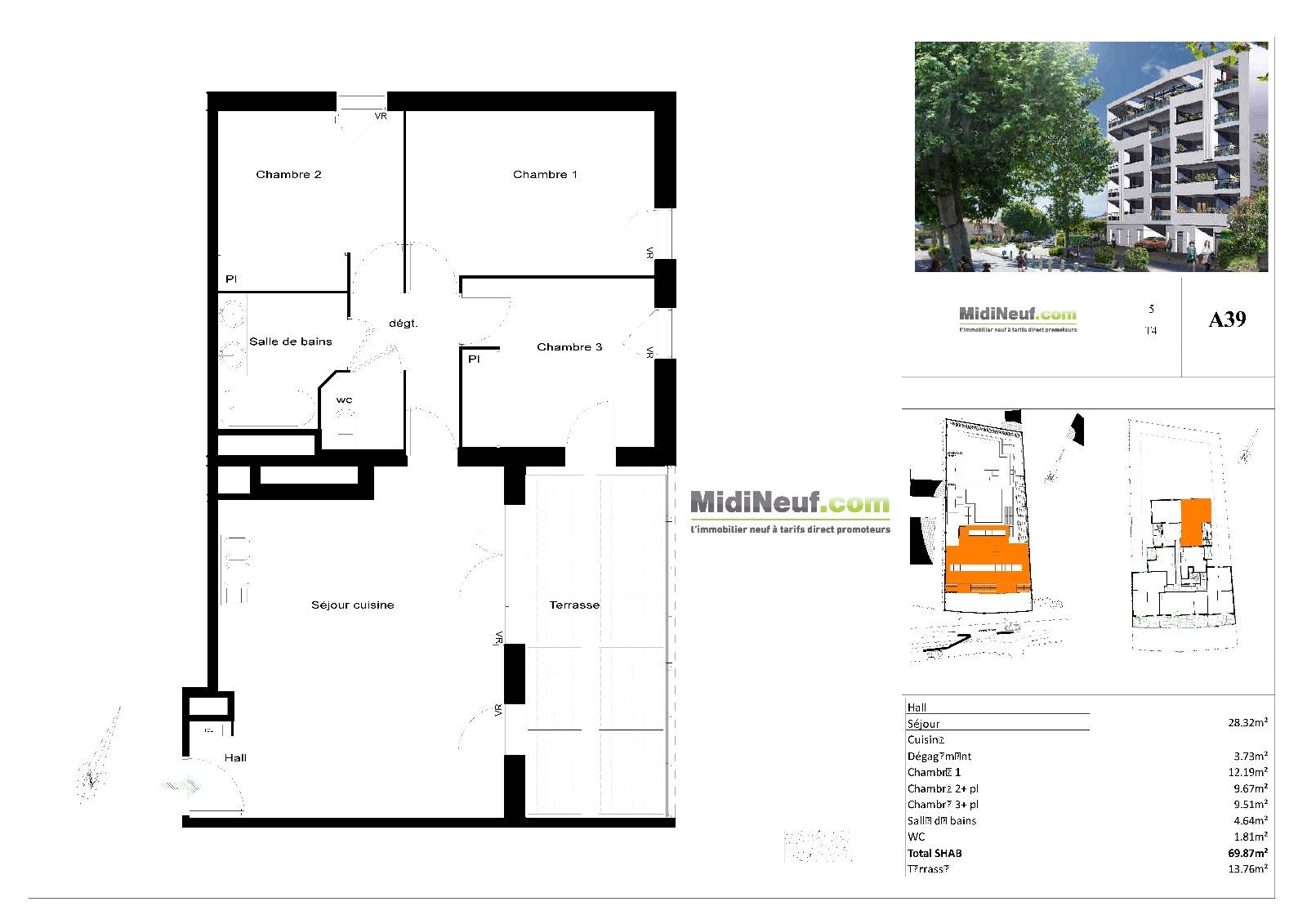 Annonce Appartement 4 Pieces Gardanne Offres Programmes